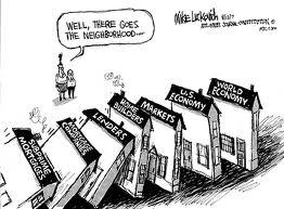 Macro-Economic Dominoes